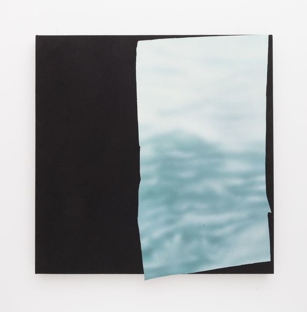 , 'Magazine Painting (White Water),' 2015, Shane Campbell Gallery