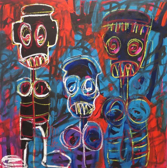 , 'Trois Môgôs,' 2017, Galerie Cécile Fakhoury - Abidjan