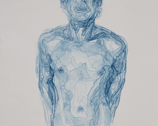 , 'Body in Blue II,' 2016, Warren Editions