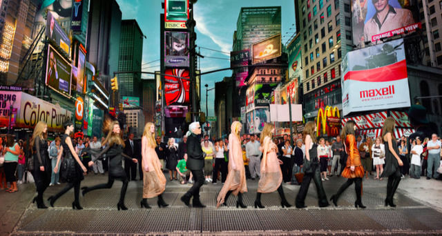 , 'LAGERFELD IN TIMES SQUARE,' , Kate Vass Galerie