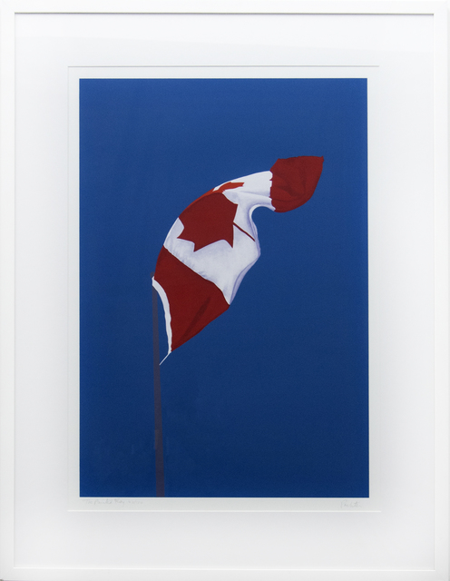 , 'The Painted Flag 42/150,' 1987, Oeno Gallery
