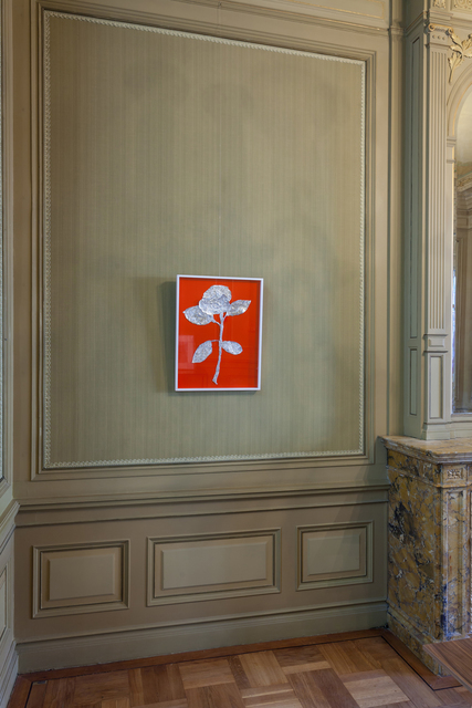 , 'Floating Signifier VII (The Language of Flowers),' 2015, International Manifesta Foundation