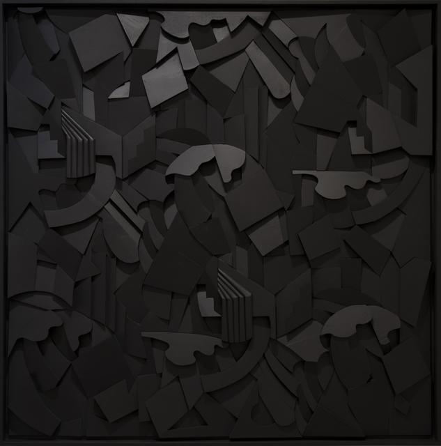 , 'Syncopation Black,' 2018, Cheryl Hazan Gallery