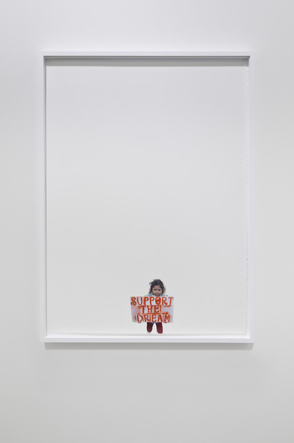 Andrea Bowers, 'Support the Dream (Pass the dream act)', 2013, kaufmann repetto