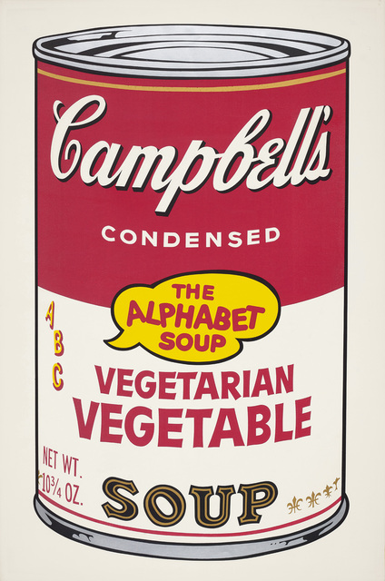 Andy Warhol, 'Vegetarian Vegetable, from Campbell's Soup II', 1969, Phillips