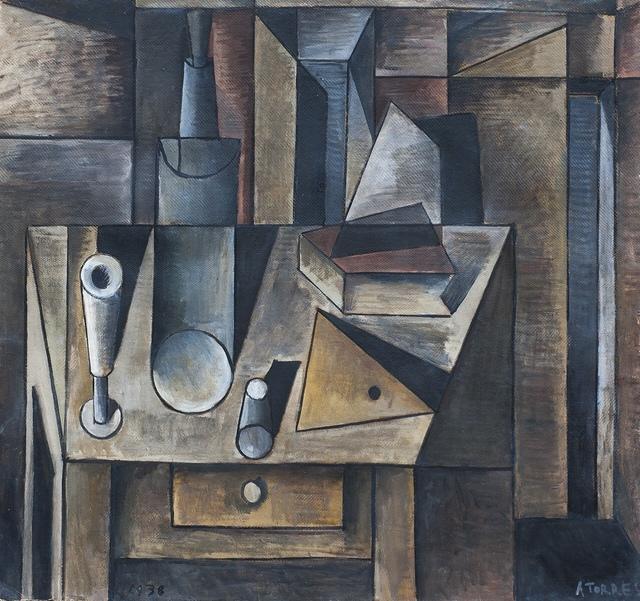 , 'Bodegón cubista,' 1938, Galería de las Misiones
