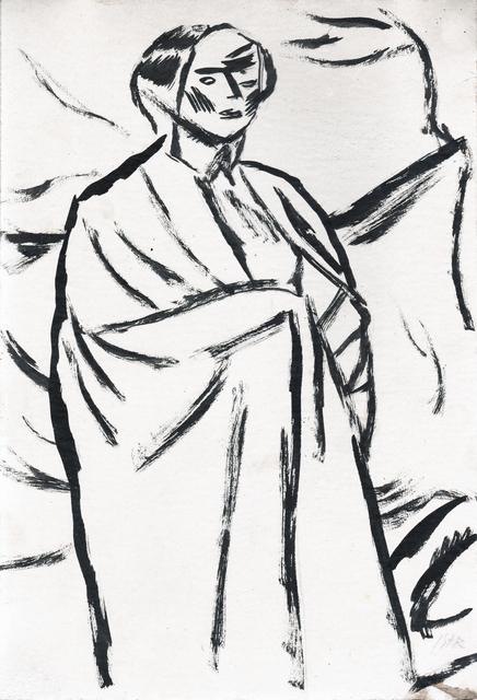 , 'Illustration for De vorbă cu mine însumi, Poems by Ion Minulescu,' 1913, Nasui Collection & Gallery