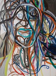 Maria Zerres, 'Franz im Kopf VI', 21.11.2009, Galerie Brigitte Schenk