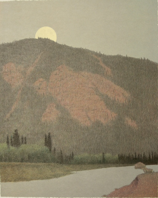 , 'DUSK AT THE BLACKFOOT RIVER,' 2001, Fitzwater Street Gallery