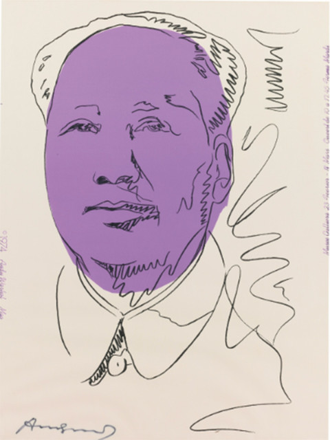 Andy Warhol, 'Mao (FS II.125A)', 1974, Revolver Gallery