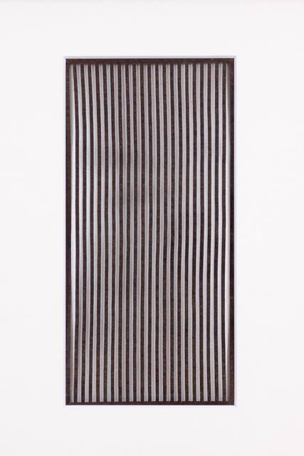 , 'Ise katagami (stencil), stripes, Japanese, Meiji period,' 1868-1912, Micheko Galerie