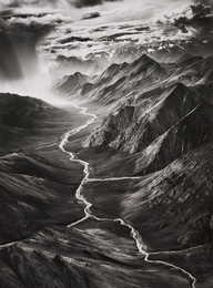 Sebastião Salgado, 'The Eastern Part of the Brooks Range, Arctic National Wildlife Refuge, Alaska, USA,' 2009, Phillips: Photographs (November 2016)