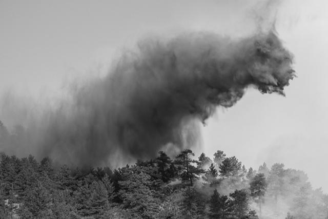 Chuck Forsman, 'Hard Seasons: Fire', Robischon Gallery