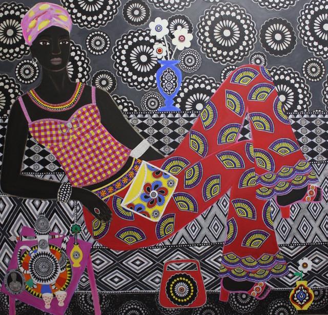 , 'Ruby,' 2017, Rebecca Hossack Art Gallery