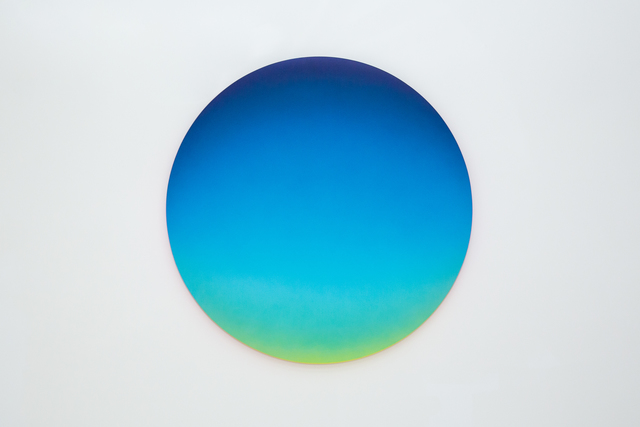 , 'Blue Gradient 1124am,' 2018, Mirus Gallery