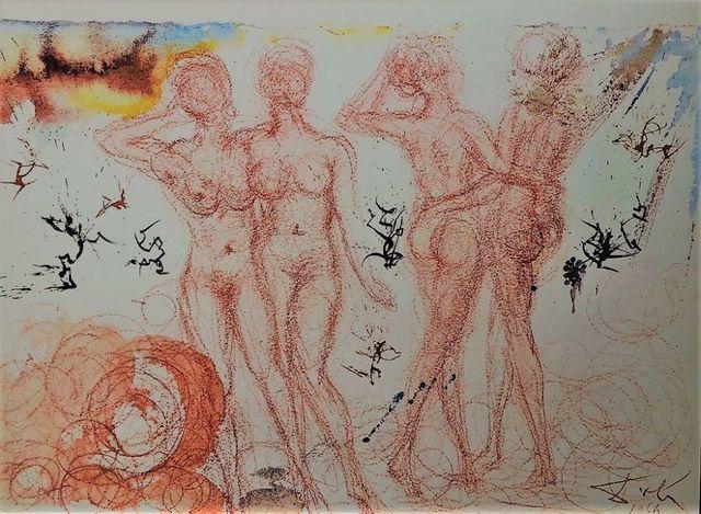 "Salvador Dalí, 'Stultae et prudentes filiae - From ""Biblia Sacra""', 1964, Wallector"