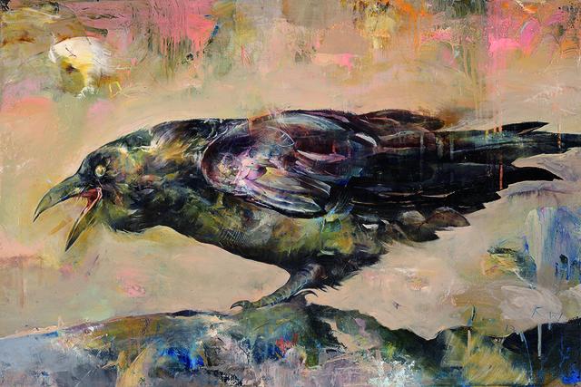 , 'Raven,' 2017, 101/EXHIBIT