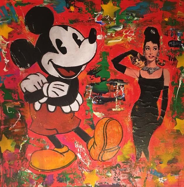 , 'Mickey et Audrey,' 2017, Samhart Gallery