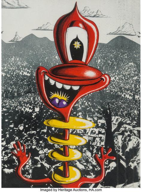 Kenny Scharf, 'I Commandment, from The Ten Commandments', 1987, Heritage Auctions