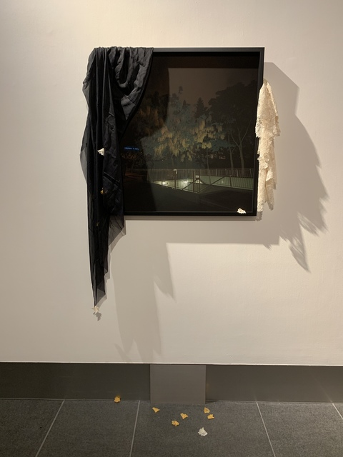 , 'Yellow Rain,' 2018, Asia Society Hong Kong