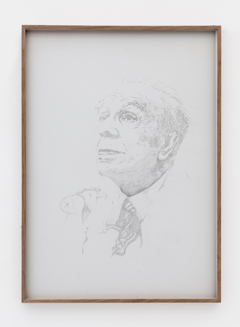 , 'Veiled Borges II ,' 2017, Meessen De Clercq
