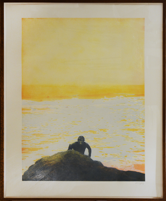Peter Doig, 'Surfer', 2001, Print, Etching in Colours, Shapero Modern