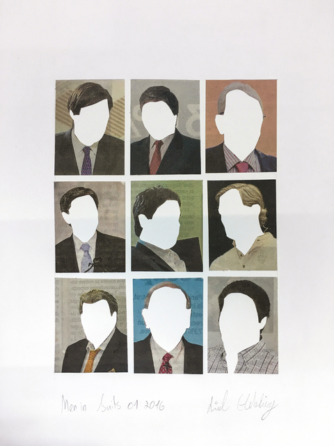 , 'Men in Suits No.1,' 2016, Rosenfeld Gallery