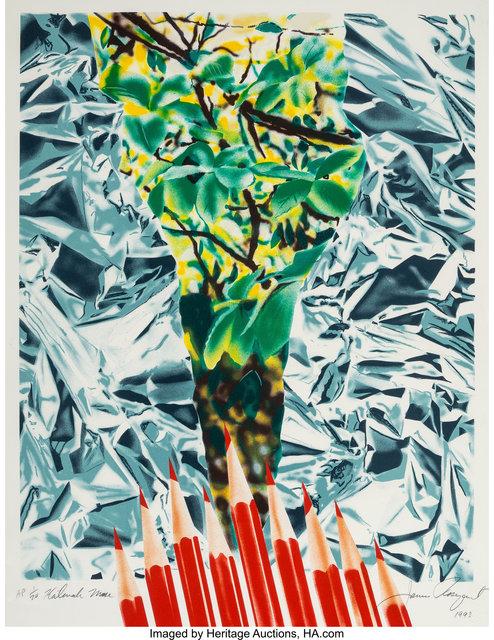 James Rosenquist, 'Katonah Muse', 1993, Heritage Auctions