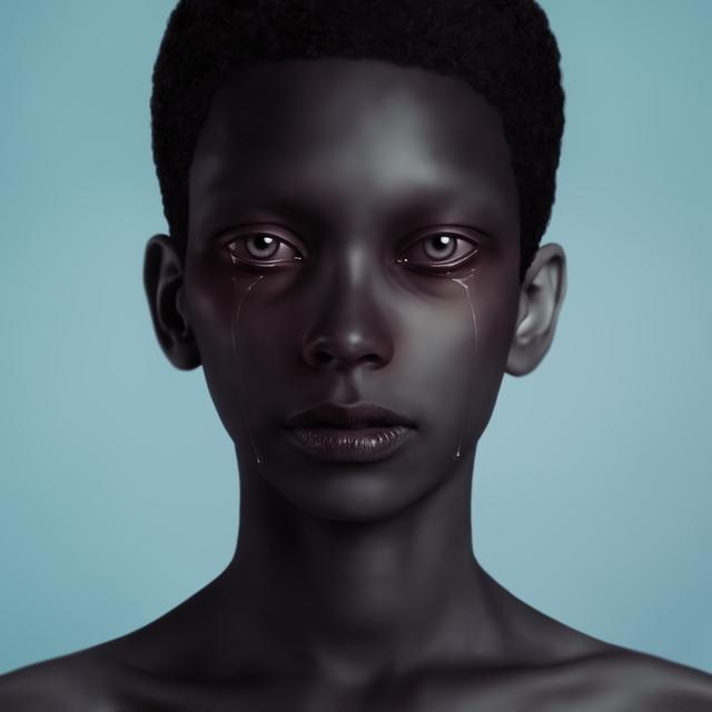 , 'Tanya's Tears,' 2008, Marsiaj Tempo