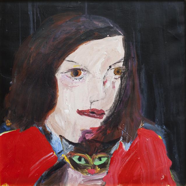 , 'Niña y gato.,' 2017, Haimney