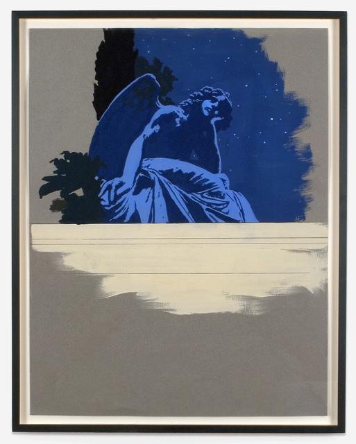Matthew Benedict, 'Angel from the Crocker Tomb, Berkeley, California', 2005, Alexander and Bonin