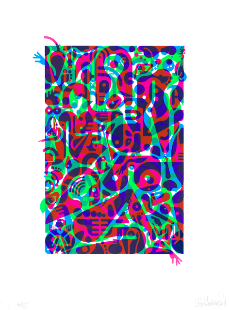 , 'Untitled (Fluorescent Women Parts) 2,' 2014, Lower East Side Printshop