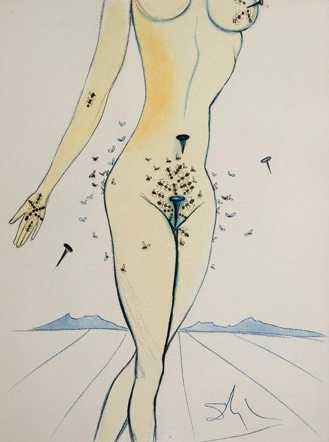Salvador Dalí, 'Ants, Nails & Flies on Nude. Casanova', 1967, Baia Gallery
