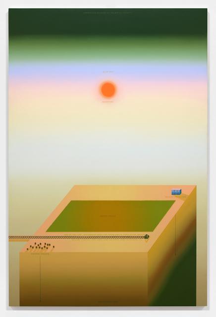 , 'Promised Land Templates (III),' 2014, Galerie Antoine Ertaskiran