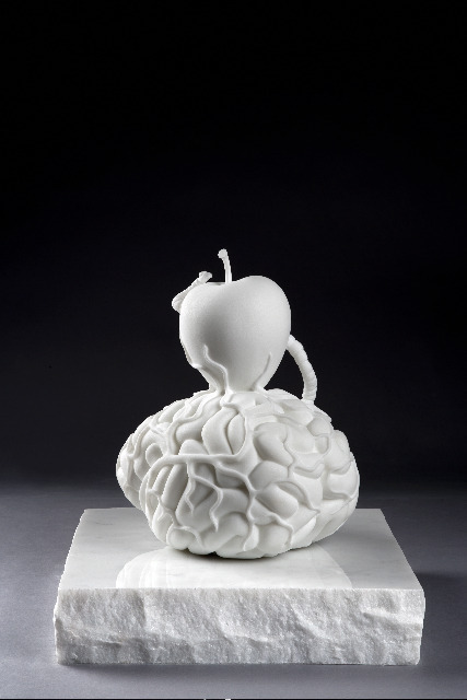 , 'Brain of an atheist,' 2014, Templon