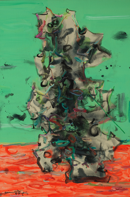 , 'Microcosm Series - Orange Land,' 2015, ArtCN