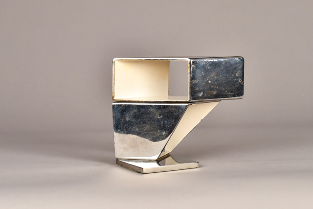 Beverly Pepper, 'Untitled', ca. 1970, Sculpture, Steel and enamel, Graham Shay 1857