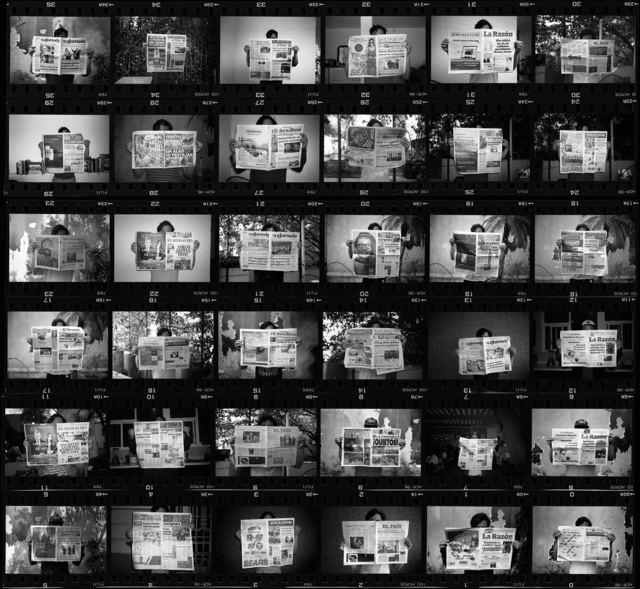 , 'Obstinada contemplación del trabajo del mañana ,' 2018 , Machete