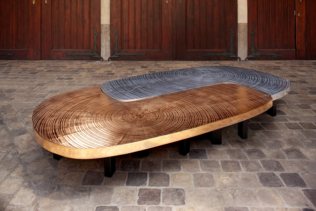 "Ado Chale, '""Solune"" Table,' 2014, Galerie Yves Gastou"