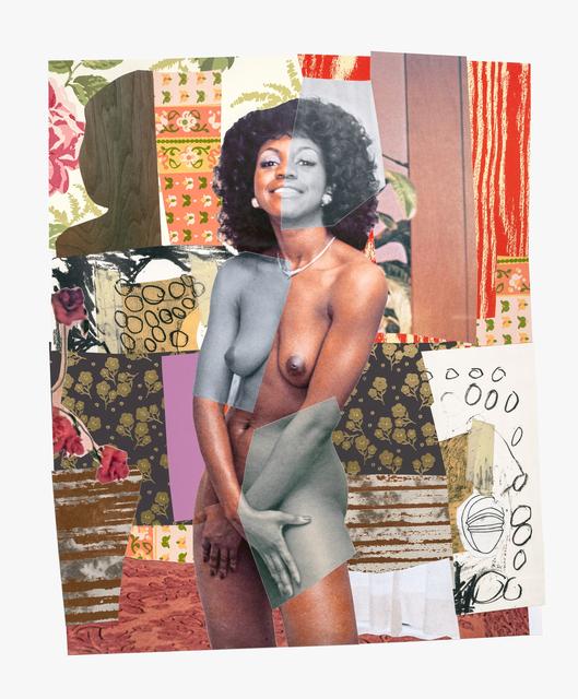 Mickalene Thomas, 'July 1977', 2019, Tandem Press