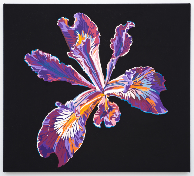 , 'Vortex Flower (iris),' 2016, Lora Reynolds Gallery