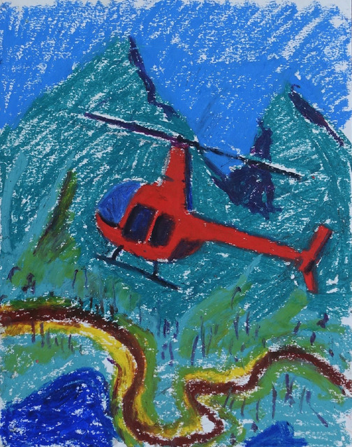 , 'Red Helicopter,' 2018, 1969 Gallery
