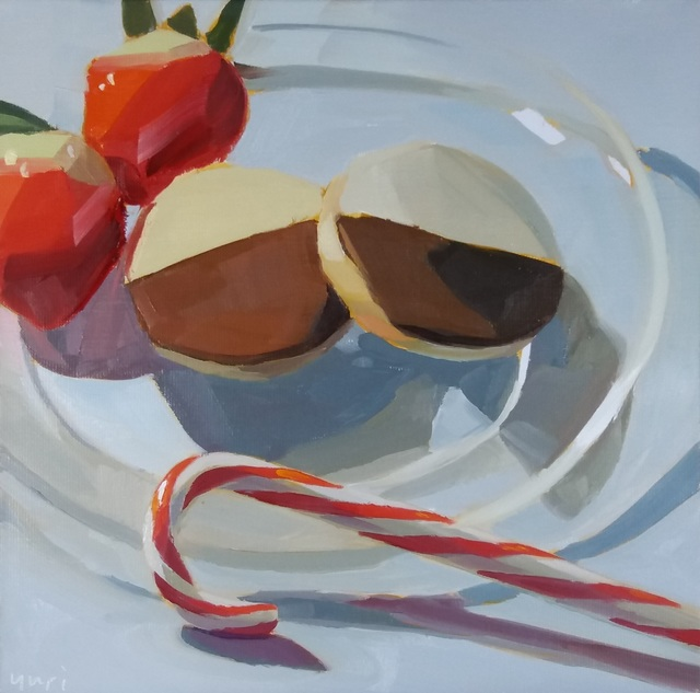 Yuri Tayshete, 'Half moon cookies and a candy cane', 2020, 440 Gallery