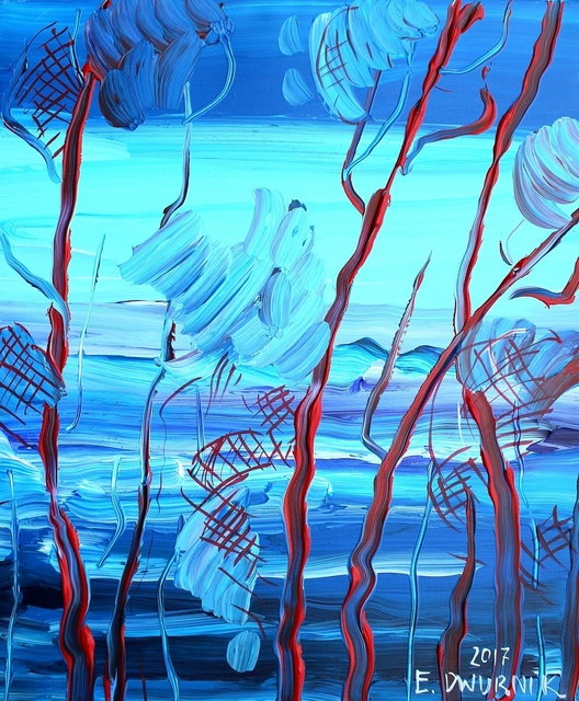 , 'Pines,' 2018, Gallery Katarzyna Napiorkowska   Warsaw & Brussels
