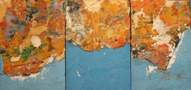 , 'Tres azules ( 3 blues, triptic),' 2016, Sala Parés