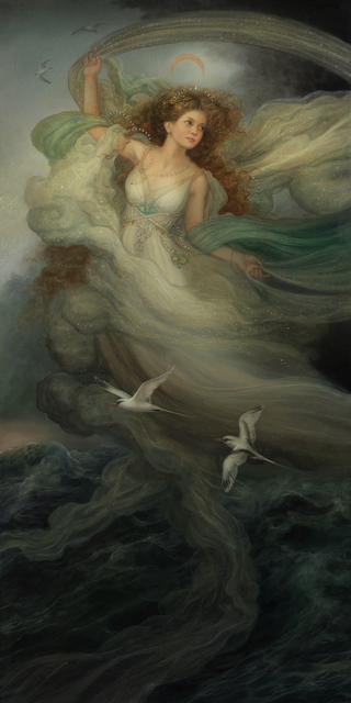 , 'Orithyia (Goddess of the raging sea),' 2018, Haven Gallery