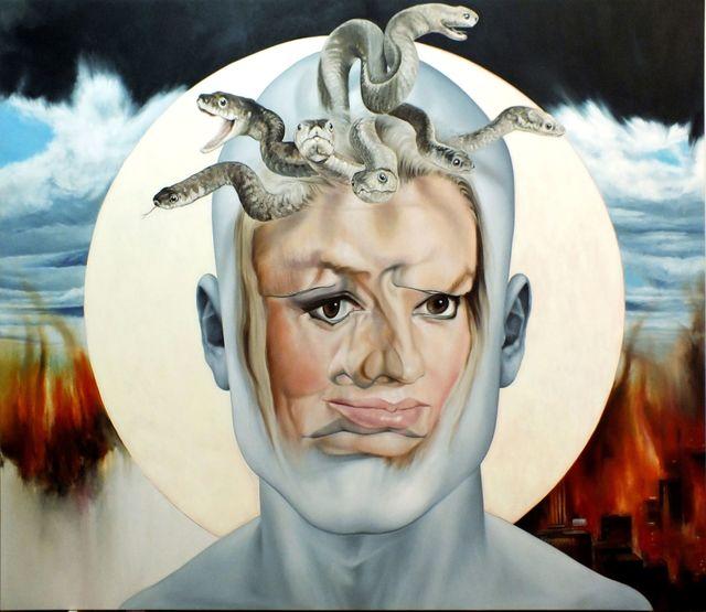 , 'Face FS16 Gorgona 2.0 (P.L.),' 2013, Galerie Richard