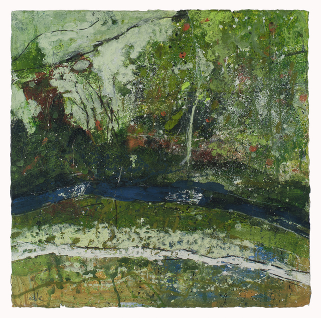 , 'Milldale Path & River,' 2017, Thackeray Gallery