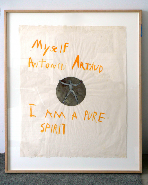 , 'Myself Antonin Artaud,' 1969, Rhona Hoffman Gallery