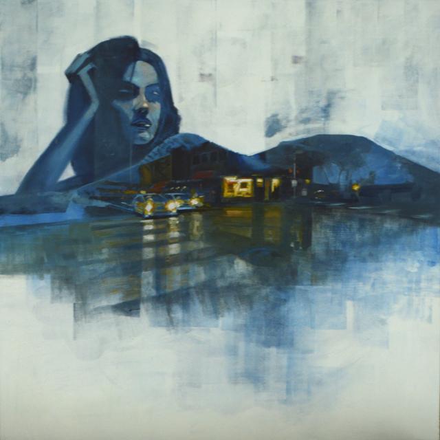 , 'jackie blue,' 2017, glave kocen gallery